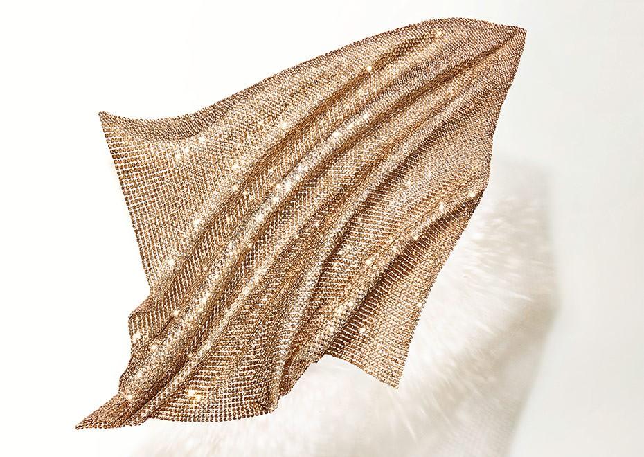 Coloring Effects Online : Swarovski crystal fine mesh sheet 40600 500x200mm color