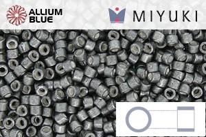 MIYUKI Delica® Seed Beads (DB1186) 11/0 Round - Galvanized