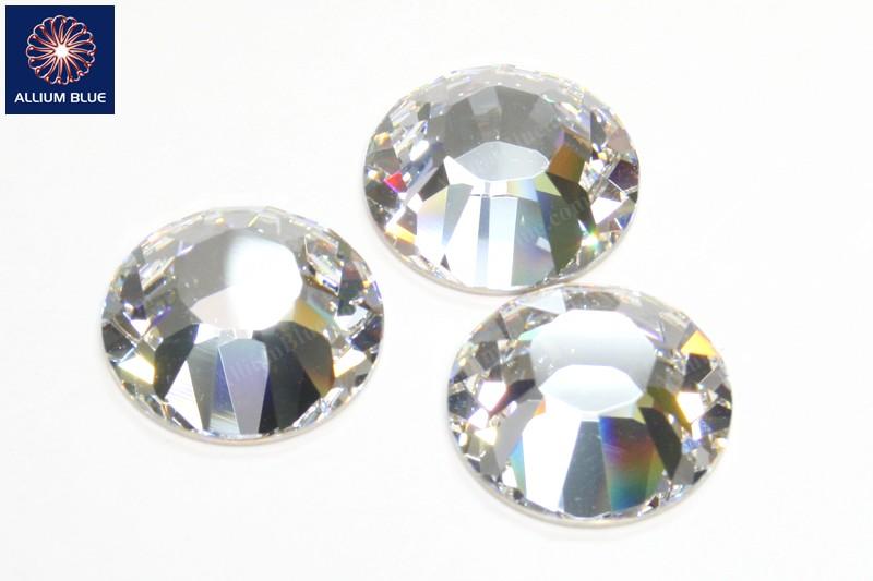 Swarovski XILION Rose Flat Back No-Hotfix (2028) 25mm - Clear Crystal With 25c034c0929b